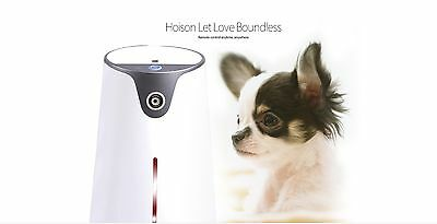 Pet Care Robot Automatic Dog Cat Feeder Phone APP Remote Control Free US Ship