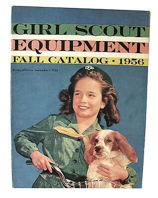 CATALOG, FALL 1956 Girl Scout Uniforms Equipment Jewelry Excellent Combine Ship