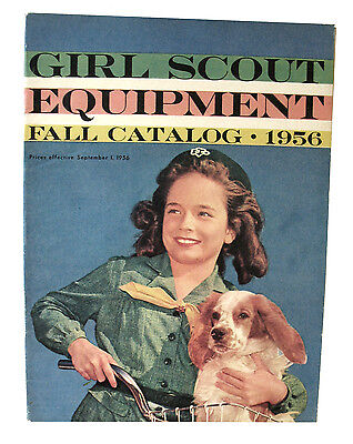 CATALOG, FALL 1956 NEW Girl Scout Uniforms Equipment Jewelry Excellent Combine