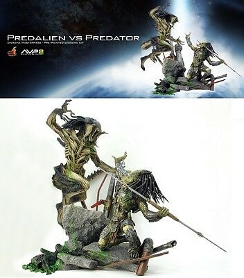 Hot Toys Japan Predalien vs Predator AVP2 Pre-Painted Diorama Kit 1/10 Statue