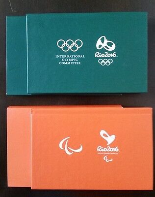 2 Olympic And Paralympic Games Medal Rio 2016 - Official Product - Last Pieces