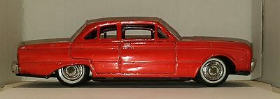 Vintage 1961 FORD FALCON ~ Tin Friction Toy ~ Made by BANDAI in JAPAN