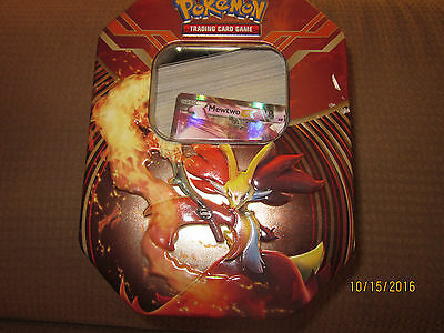 Pokeman 2011 Tin filled with Trading Cards