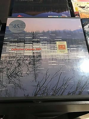 Collection Canada 2001 - Canada Post Annual Stamps Souvenir Book - BRAND NEW