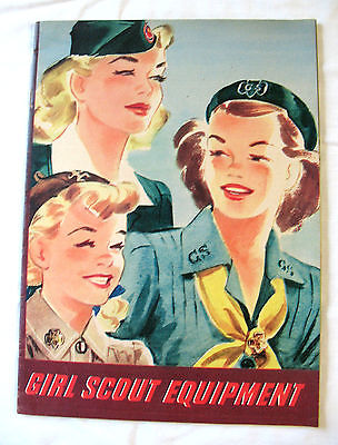 CATALOG, FALL 1944 Girl Scout Uniforms Equipment Wings War Excellent Combine Shp