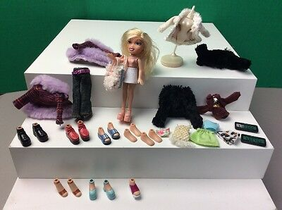 Lil Little Bratz Mixed Lot MGA Ailani Girl Doll Shoes Accessories Tiny Clothing