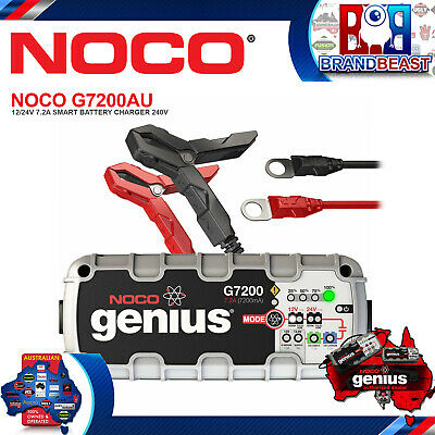Noco G7200AU 12/24V 7.2A Smart Battery Charger Maintainer