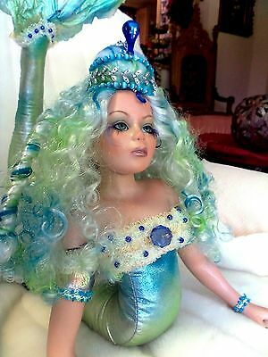 Rare  Showstoppers  Mermaid  Limited  Edition Collectible  Doll Named Sea Kiss.