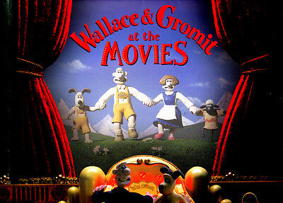HTF Vintage Wallace and Gromit at the Movies 2001 Calendar Only 1 on EBay!