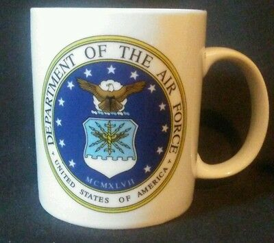 USAF Department of the Air Force Double sided Coffee Cup Mug
