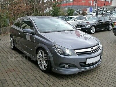 Opel Astra H Gtc Twin Top Front Spoiler Lip Opc Tuning