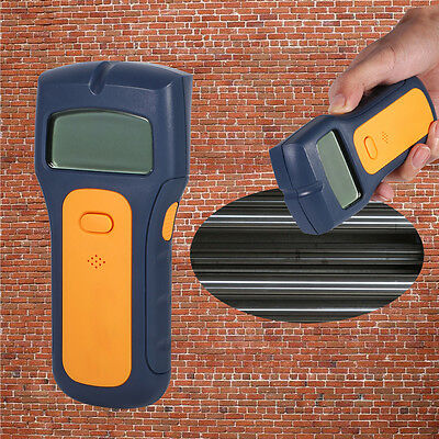 3-in1 Stud Scanner Electrical Wires Cable Wood Metal Wall Detector Finder Hot GW