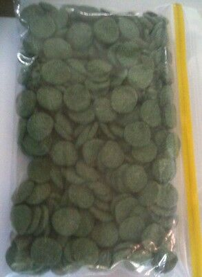 100 grams Spirulina Algae Wafers - Fish Food - Pleco, Catfish, African Cichlids