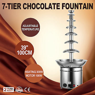 7-Tier Fuente de chocolate 100CM FOR DIPPING ANQUET CHEF WIDELY TRUSTED NEWEST