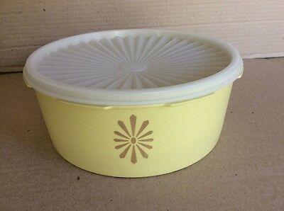 Tupperware VINTAGE SERVALIER CANISTER Cakes/ Biscuits with Lid