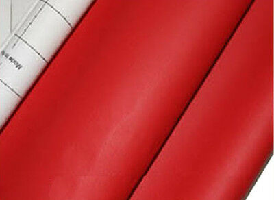 red adhesive faux leather upholstery vinyl fabric auto car interior seat cover