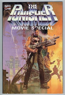 Punisher Movie Special Official Comic Adaptation Marvel Comics 1990 Nm Unread