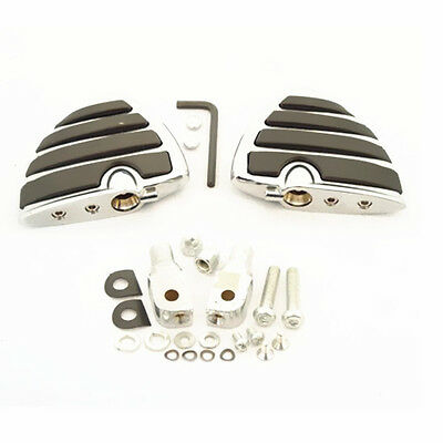 Tombstone Design Front Footpegs Footrest Mount For Yamaha Road Star Warrior