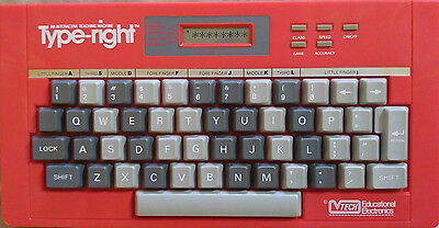 Vintage VTECH Type-Right Interactive Teaching Machine TESTED WORKING USED