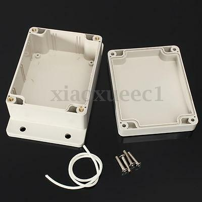 115x90x55mm Waterproof Plastic Electronic Project Box Enclosure Cover Case US