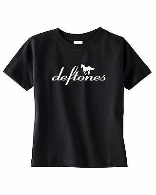 deftones baby kids toddler teen youth t-shirt concert tee shirt clothing black