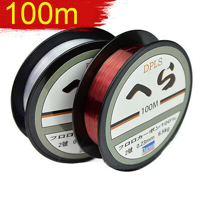 Nylon Fishing Line Super Strong Durable Monofilament Lake Sea Fishing Line 100M