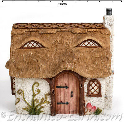 Vivid Arts Miniature World / Fairy House /Thatched Country Cottage/ Garden House