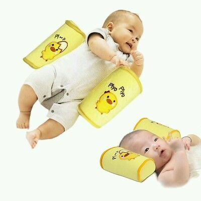 Baby Anti Roll Pillow Safe Cotton infant Head Positioner Fast Shipping!!!!!!!!