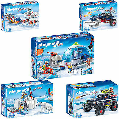 PLAYMOBIL® Action Polar Ranger Expedition Polarexpedition Eispiraten AUSWAHL