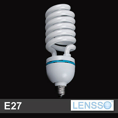 Light Bulb 85W = 400W - E27 - 5500K Continuous light - LENSSO