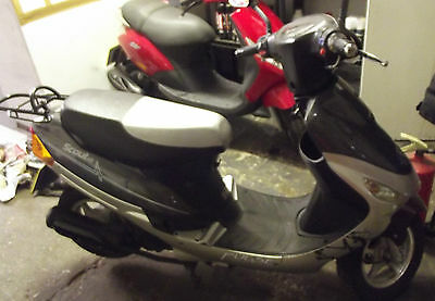 2012 Pulse Scout Scooter Grey/silver