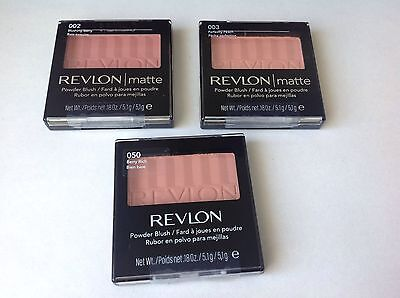REVLON POWDER BLUSH various shades