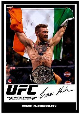97.  CONOR McGREGOR  UFC  SIGNED   PHOTOGRAPH GREAT GIFT