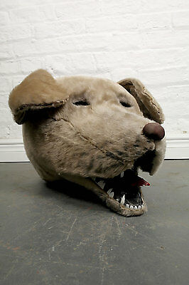 Theatrical Pantomime Costume Pet Dog Head Carnival