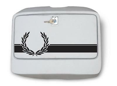 Laurel Sticker Vespa PX LML Tool box door Skinhead Mod vespa sticker