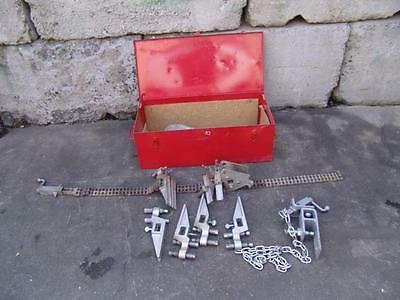 """Mathey Dearman Chain Pipe Alignment Clamp D249 Pipe Fitter Welding 4-16"""" Inch #2"""