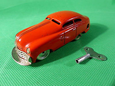 Schuco 1001 Mirakocar in rot / red - Tinplate / Blech US Zone Germany