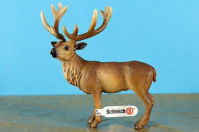 Schleich  Retired 2011  Red Deer Stag 14248 circa 2002 + Tag made in Germany VGC