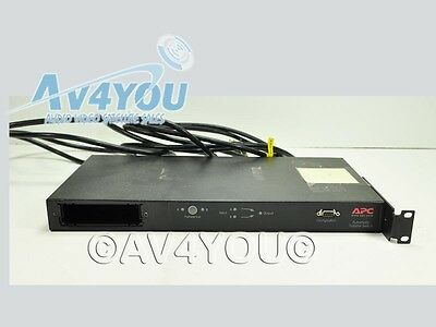 APC Automatic Transfer Switch AP7750  AS-IS cuts off and on