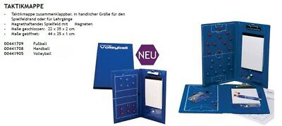 Cawila Taktikmappe 4417 Coachboard Magnetboard Fußball Handball Volleyball