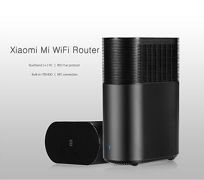 Xiaomi Mi R1D AC WiFi Router 1TB HDD / 1167Mbps / Dual-band 2.4GHz / 5.0Ghz