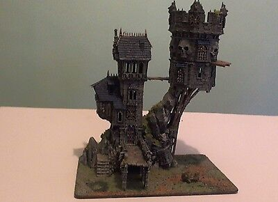 GW Warhammer Fantasy Scenery - Skullvane Manse, Lair of the Astromancer PAINTED