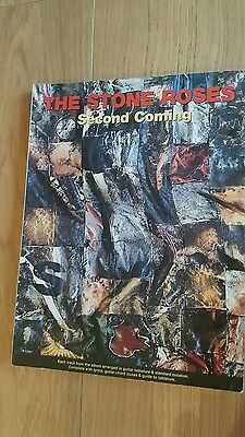 Stone Roses Second Coming Guitar Tab & Notation Book 112 pages EX Condition Rare