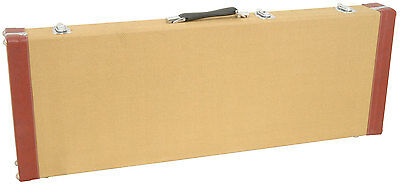 Tweed Style 2-Tone Electric Guitar Hard Carry Case 127.173
