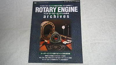 Mazda Rotary Engine Archives book 13B RX 7 overhaul tuning photo