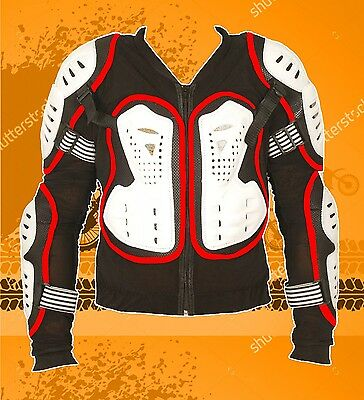 Motorbike Motorcycle Motocross Body Armour Protection Spine Protector Size M