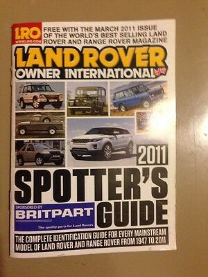 Land Rover Owner International Spotters Guide 2011