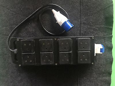 16 Amp Rubberbox Power Distribution Unit With 6 X 13a Sockets