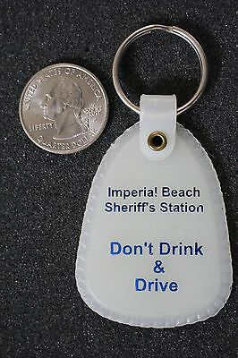 Imperial Beach California Sheriff's Station Don't Drink & Drive Keychain Keyring