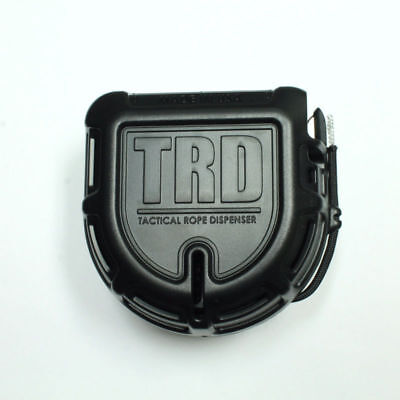Tactical Rope Dispenser - Black  - Made in USA